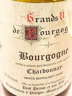 Paul Pernot et Ses Fils Bourgogne Chardonnay