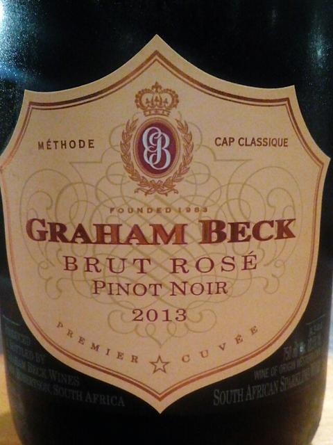 Graham Beck Brut Rosé Pinot Noir Millésimé(グラハム・ベック ブリュット・ロゼ ピノ・ノワール ミレジム)