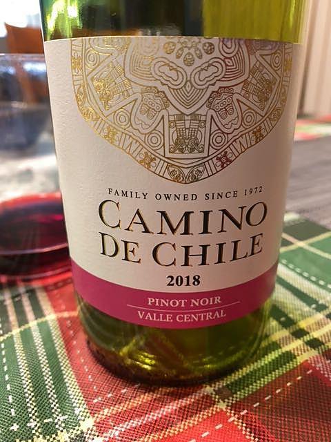 Camino de Chile Pinot Noir(カミーノ・デ・チリ ピノ・ノワール)
