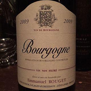 Emmanuel Rouget Bourgogne Rouge