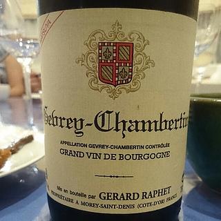 Gérard Raphet Gevrey Chambertin Cuvée Matsuya(ジェラール・ラフェ ジュヴレ・シャンベルタン キュヴェ・マツヤ)