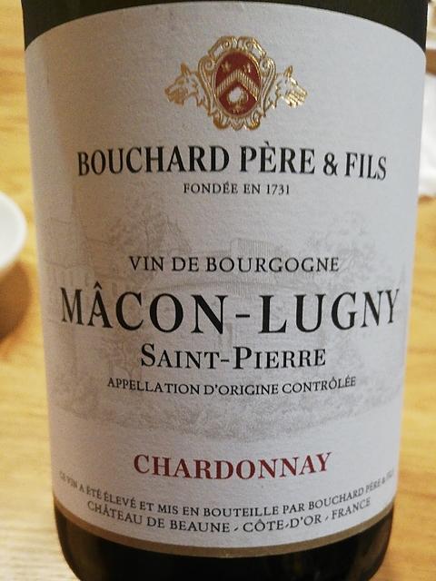 Bouchard Père & Fils Mâcon Lugny Saint Pierre