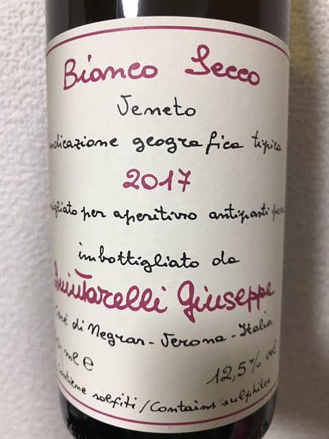 Giuseppe Quintarelli Bianco Secco(ジュゼッペ・クインタレッリ ビアンコ・セッコ)