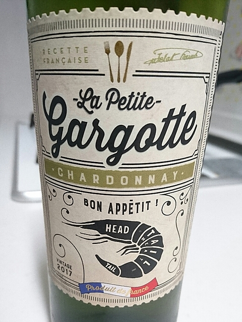 La Petite Gargotte Chardonnay(ラ・プティット・カルゴット シャルドネ)