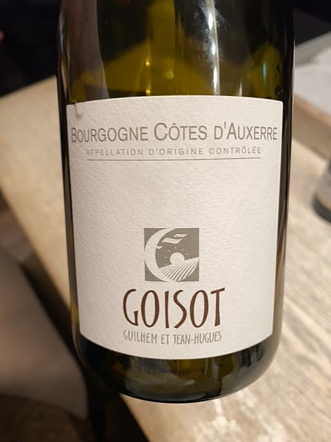 Goisot Bourgogne Côtes d'Auxerre Blanc(ゴワソ ブルゴーニュ・コート・ドーセール ブラン)