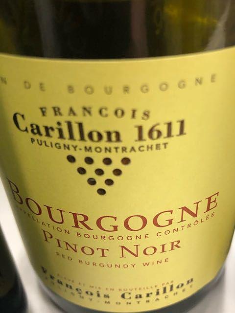 François Carillon Bourgogne Pinot Noir