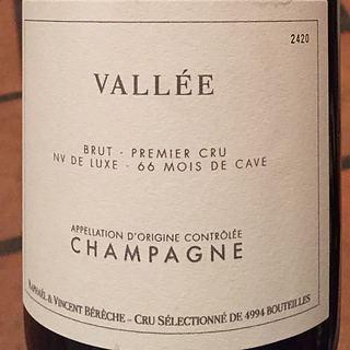 Raphaël & Vincent Bérêche Vallée Brut 1er Cru De Luxe 66 Mois de Cave