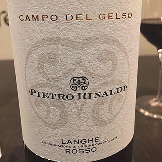 Pietro Rinaldi Campo del Gelso Langhe Rosso