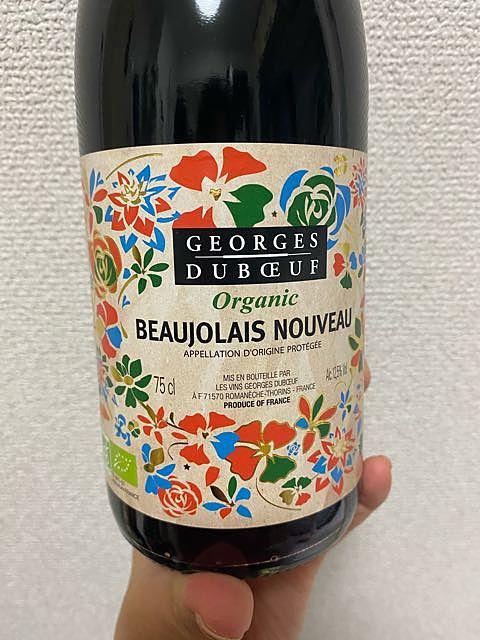 Georges Duboeuf Beaujolais Nouveau Organic(ジョルジュ・デュブッフ ボージョレ・ヌーヴォー オーガニック)
