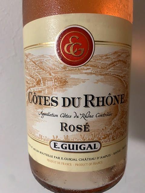 E.Guigal Côtes du Rhône Rosé
