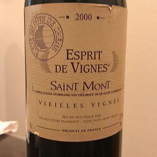 Esprit de Vignes Saint Mont Vieilles Vignes