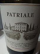 パトリアレ・ヴィーノ・ロッソ・ディターリア