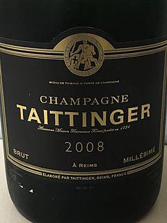 Taittinger Brut Millésimé(テタンジェ ブリュット ミレジメ)