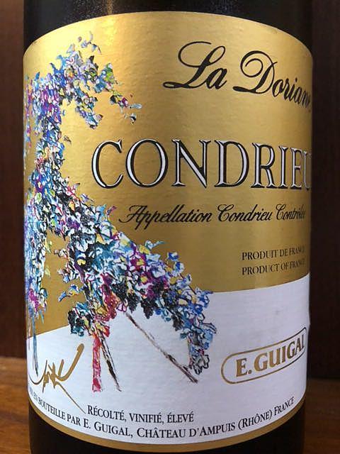 E.Guigal Condrieu La Doriane(E. ギガル コンドリュー ラ・ドリアーヌ)