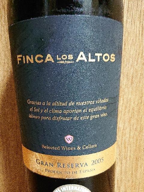 Finca Los Altos Grand Reserva(フィンカ・ロス・アルトス グラン・レセルバ)