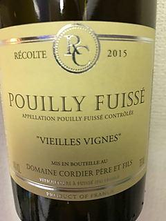 Dom. Cordier Père et Fils Pouilly Fuissé Vieilles Vignes