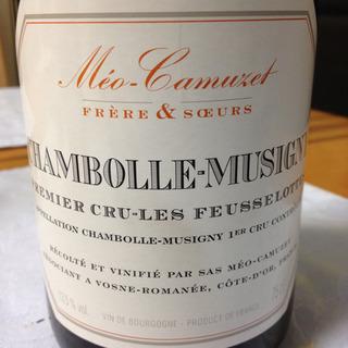 Méo Camuzet F&S Chambolle Musigny 1er Cru Les Feusselottes