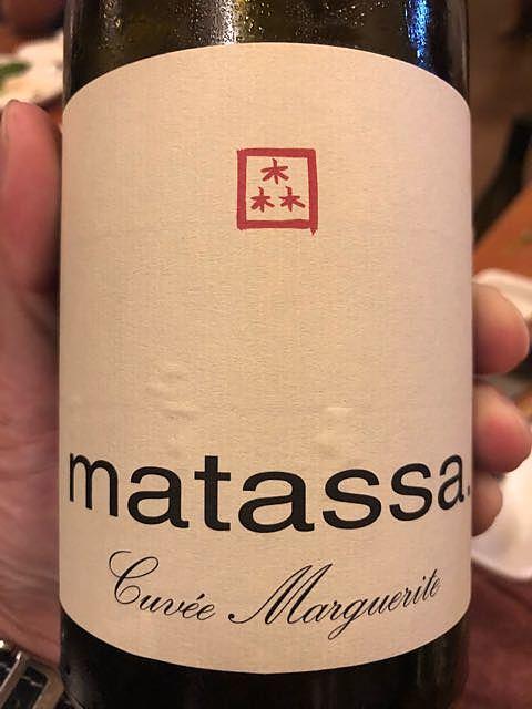 Matassa Cuvée Marguerite 2005(マタッサ キュヴェ・マルグリット)