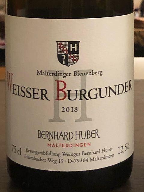 Bernhard Huber Malterdinger Bienenberg Weisser Burgunder H