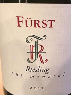 Fürst Riesling Pur Mineral