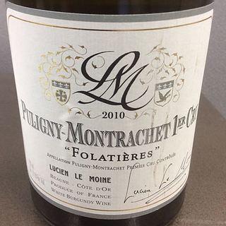 Lucien Le Moine Puligny Montrachet 1er Cru Folatières