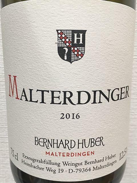Bernhard Huber Malterdinger Spätburgunder trocken(ベルンハルト・フーバー マルターディンガー シュペート ブルグンダー トロッケン)
