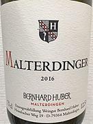 ベルンハルト・フーバー マルターディンガー シュペート ブルグンダー トロッケン(2016)