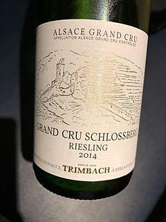 Trimbach Riesling Grand Cru Schlossberg