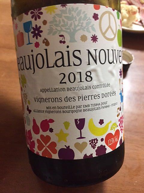 Vignerons des Pierres Dorées Beaujolais Nouveau