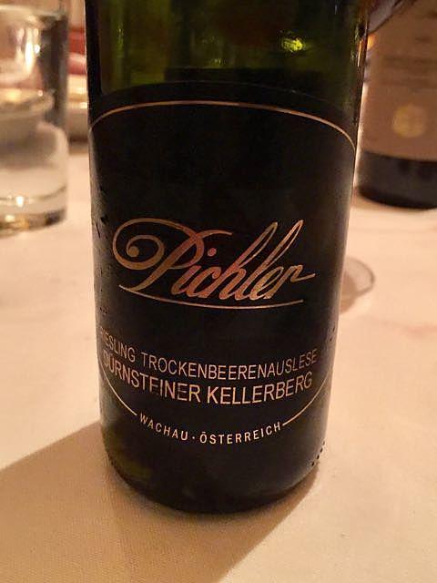 F.X. Pichler Dürnsteiner Kellerberg Riesling Trockenbeerenauslese(エフ・エックス・ピヒラー デュルンシュタイナー・ケラーベルク リースリング トロッケンベーレンアウスレーゼ)