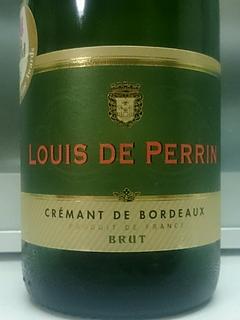 Louis de Perrin Crémant de Bordeaux Brut