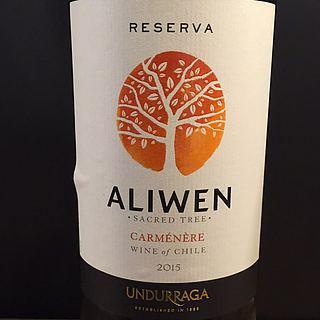 Undurraga Aliwen Reserva Carmenere(ウンドラーガ アリウェン レゼルヴァ カルメネーレ)