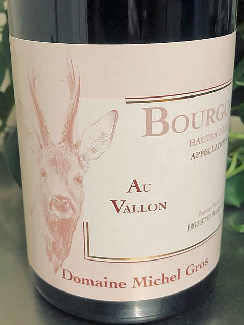 Dom. Michel Gros Bourgogne Hautes Côtes de Nuits Au Vallon