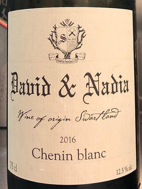 David & Nadia Chenin Blanc