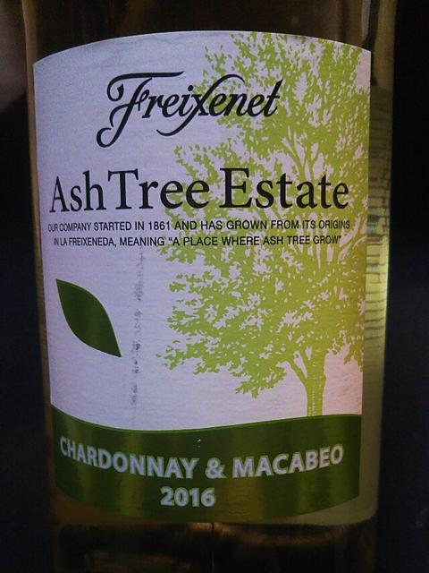 Freixenet Ash Tree Estate Chardonnay Macabeo