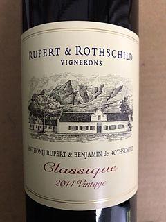 Rupert & Rothschild Classique 2014(ルパート&ロートシルト クラシック)
