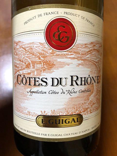 E.Guigal Côtes du Rhône Blanc