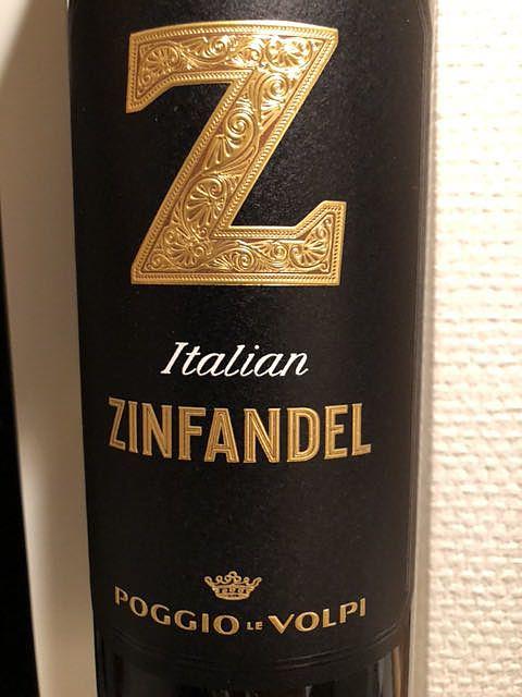 Poggio Le Volpi Italian Zinfandel