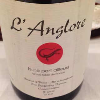 Dom. l'Anglore Nulle Part Ailleurs Rouge