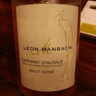Leon Manbach Crémant d'Alsace Brut Rosé