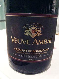 Veuve Ambal Crémant de Bourgogne Brut Millésime