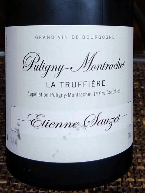 Etienne Sauzet Puligny Montrachet La Truffiere