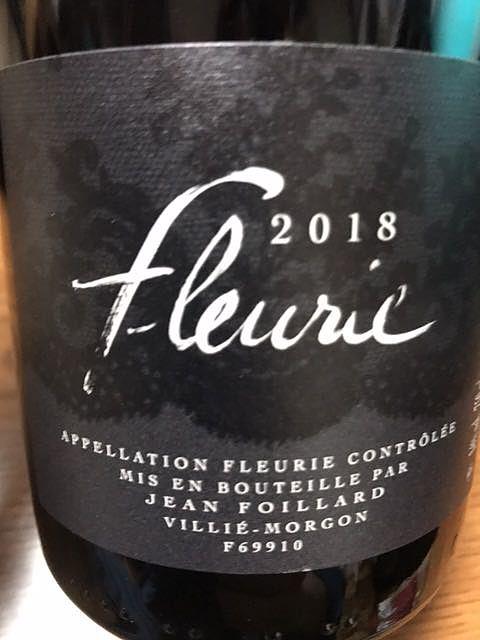 Jean Foillard Fleurie