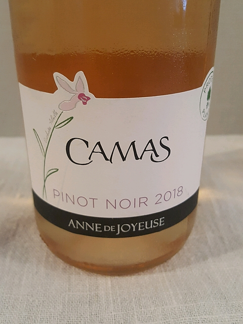 Anne de Joyeuse Camas Pinot Noir