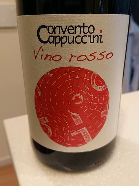 Convento Cappuccini Vino Rosso(コンヴェント・カップチーニ ヴィーノ・ロッソ)