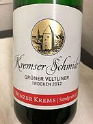 ヴィンツァー・クレムス クレムザー・シュミット グリューナー・フェルトリーナー トロッケン(2012)