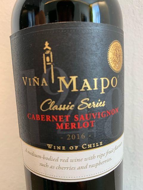 Viña Maipo Classic Series Cabernet Sauvignon Merlot(ビニャ・マイポ クラシック・シリーズ カベルネ・ソーヴィニヨン メルロー)