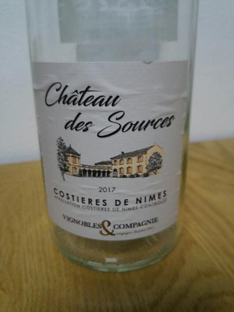 Ch. des Sources Costières de Nîmes Rosé
