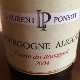 Laurent Ponsot Bourgogne Aligoté Cuvée du Rossignol