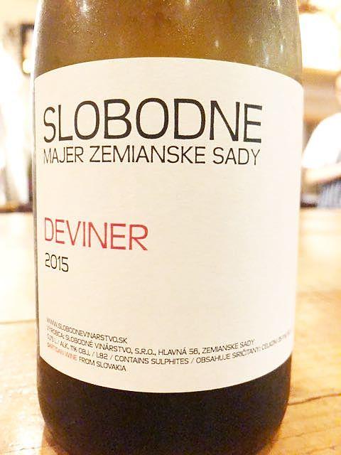 Slobodné Deviner(スロボドネ デヴィネール)